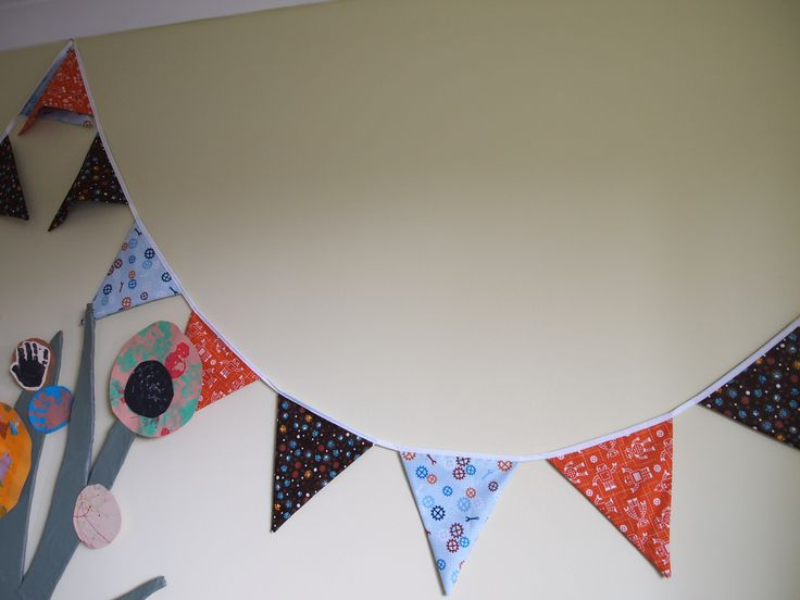 Lovely bunting made by my mum.