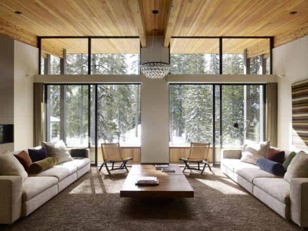 Bild Auf Wohnzimmer Nach Feng Shui Gestalten Glasw Nde Die Wohnung