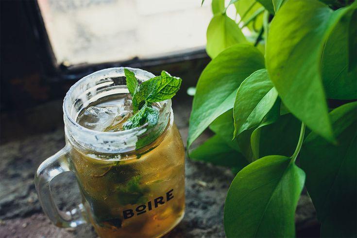 Un cocktail classique à base de bourbon avec de la menthe!