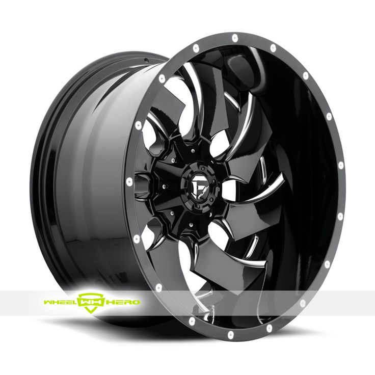 Fuel Cleaver D239 Black Milled Wheels For Sale & Fuel Cleaver D239 Rims And Tires