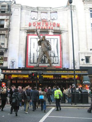 We Will Rock You the London Musical in Bloomsbury