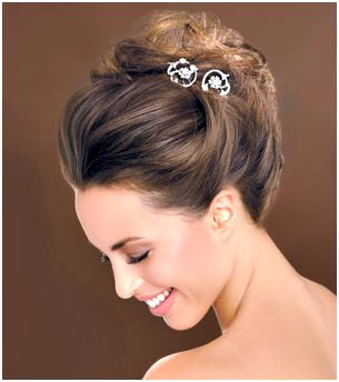 bridesmaid hair style 12 best images about cabelos para noiva on 2364