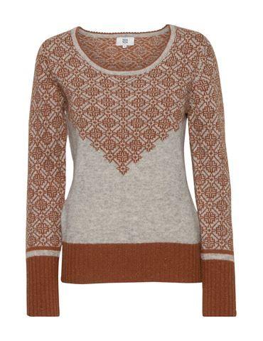 AW 2013Jacquard knit - Grey