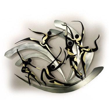 Modern Dance Metal Wall Sculpture Second Choice