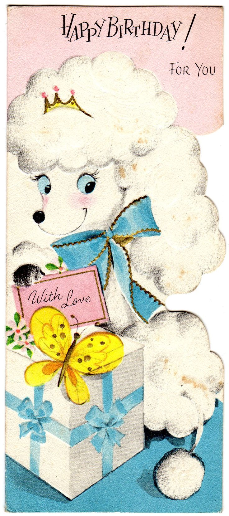 84 Best Happy Birthday 3 Images On Pinterest Vintage Cards