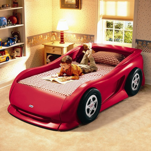 Little Tikes Sports Car Twin Bed, Red