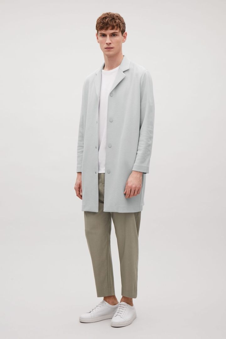 COS | Relaxed jersey coat