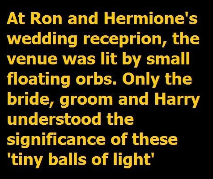 Love New Headcanon Was Harry And Ginnys Wedding Wholly -4812