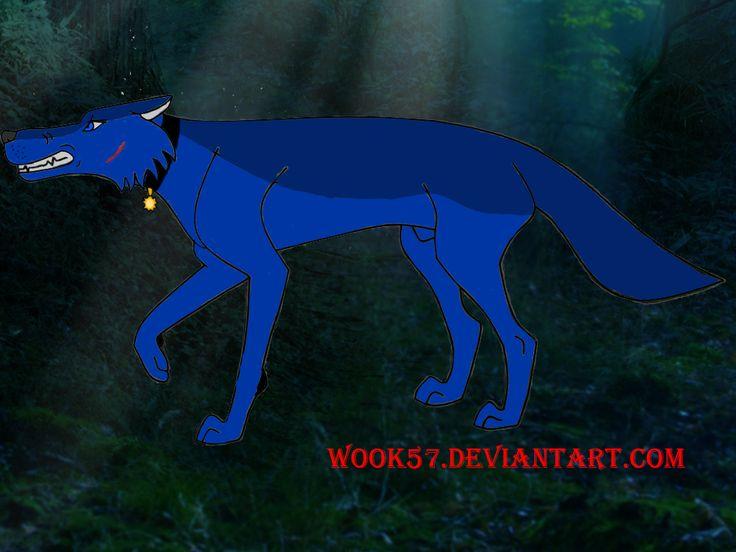 Персонаж моего друга HunterRuZ в волчьем виде
