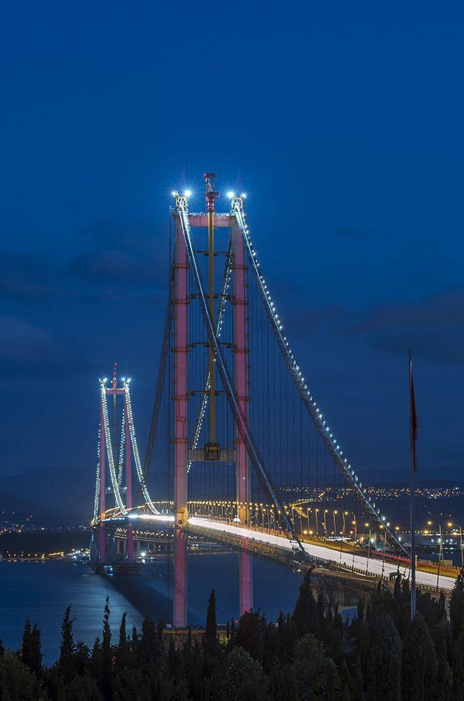 Osman Gazi Bridge - Istanbul ,Turkey