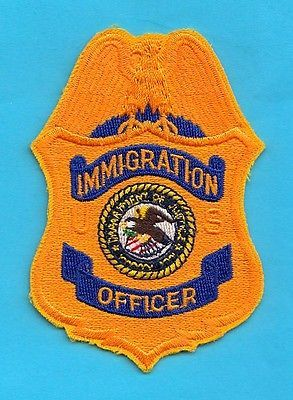 E31 * Ice Ins Sa Agent Gold Federal Dhs Fbi Police Patch Srt California Officer