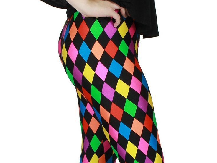 Jester Spandex Leggings by GpopClothing on Etsy, $45.00