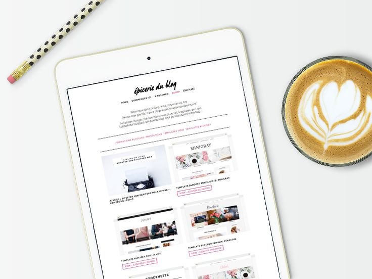 27 best Blogger Templates images on Pinterest | Role models ...