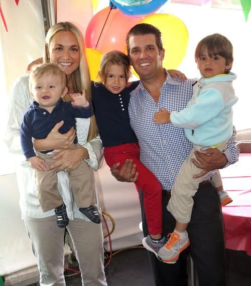 Donald Trump Jr. & Family: Double Birthday Party