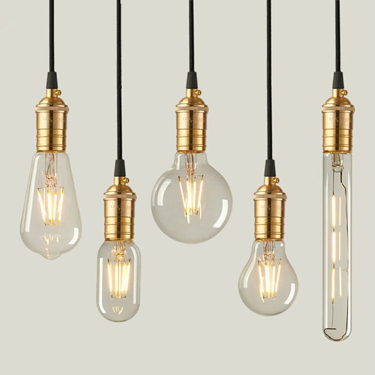 LED Edison Bulbs Home Vintage Bombillas Filament Bulbs Warm White Energy Saving Edison Bulbs For Home Decoration 6W 8W…