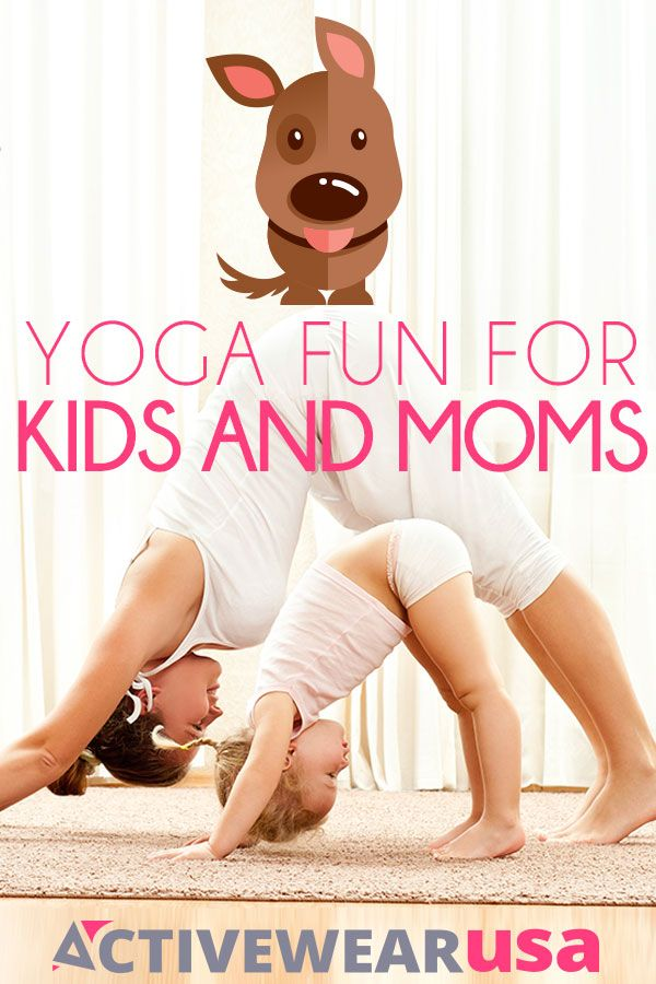 Introduce your children to a few fun poses in the morning and all of you will be energized and ready for a busy day. #yoga #parents  #kids