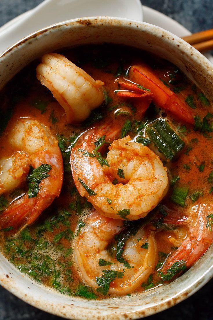 Mario Batali's Spicy Shrimp Sauté by nytimes #Shrimp #Spicy
