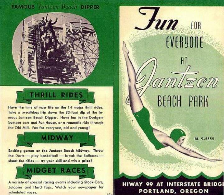 Jantzen Beach Amusement Park In