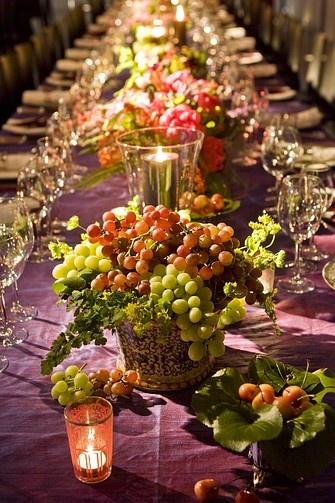 Best ideas about fruit centerpieces on pinterest