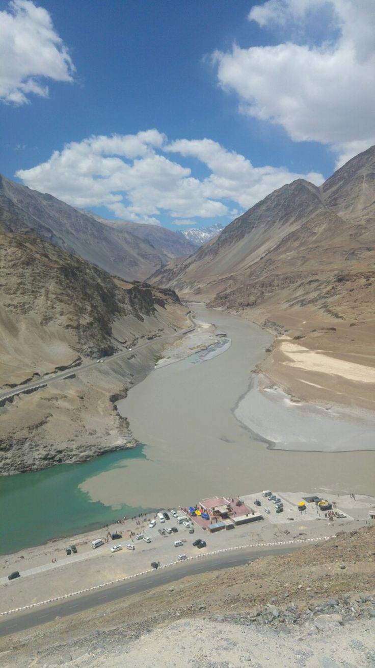 Sangam -Indus & Zanskar meeting point