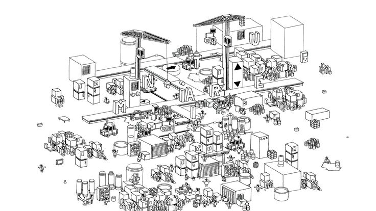 Hidden Folks - Game Screenshot - Miniature Level
