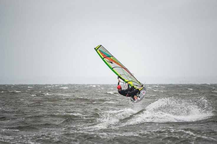 Windsurfer at Gullane