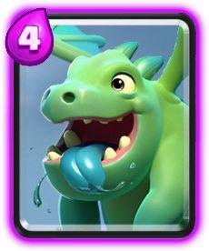 Resultado de imagem para bebe dragao clash royale