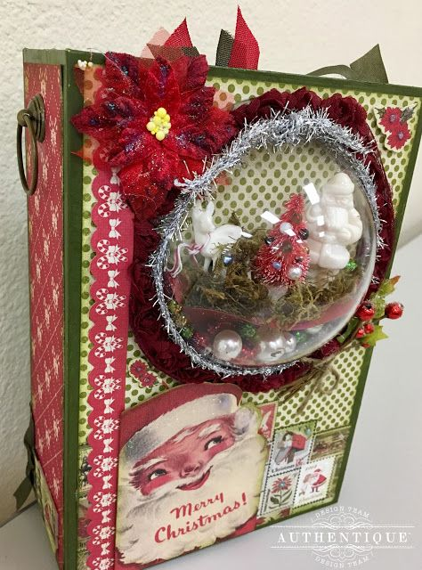 Authentique Paper: Vintage Christmas December Daily Style!