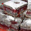 Bögrés krémes meggyes-mákos kocka | NOSALTY – receptek képekkel