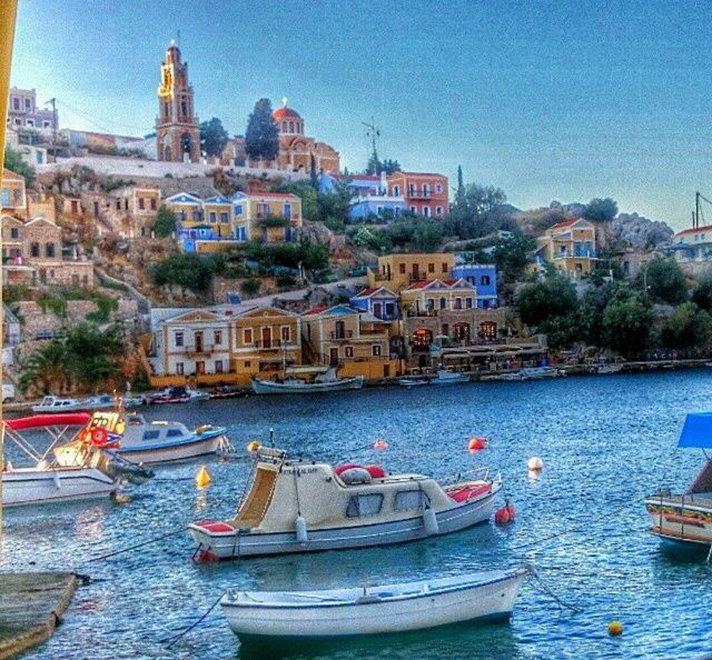 Symi island , Greece