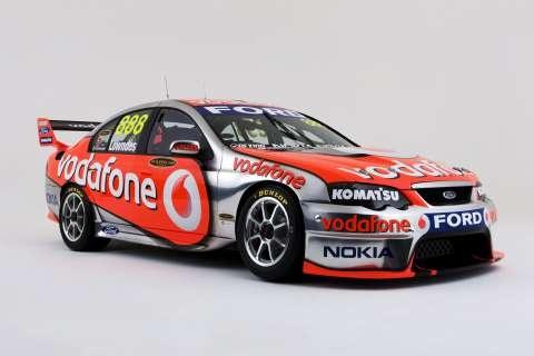 Team Vodafone Ford V8 Supercar