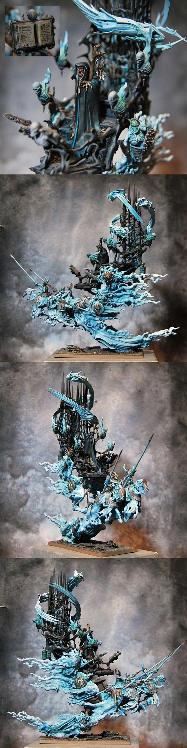 Vapire Counts Mortis Engine Pro Painted - Purc