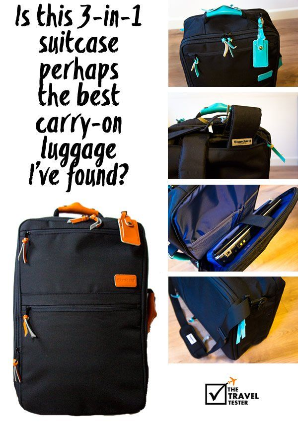 Is this travel backpack perhaps the best carry on luggage I've found? | The Travel Tester