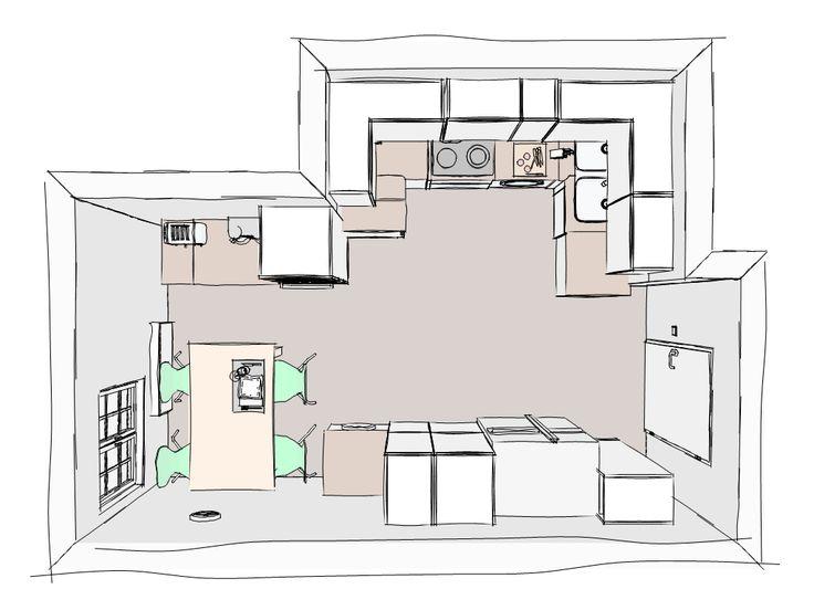 meine neue k che k che pinterest neue k che k che und neuer. Black Bedroom Furniture Sets. Home Design Ideas