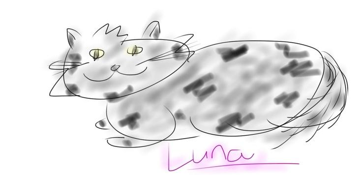 my pet Luna. miaw!