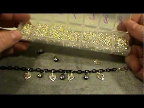 How To Make A Beautiful and Inexpensive Charm Bracelet!