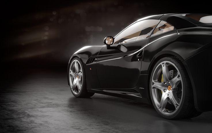 Ferrari California renders | Freelancers 3D