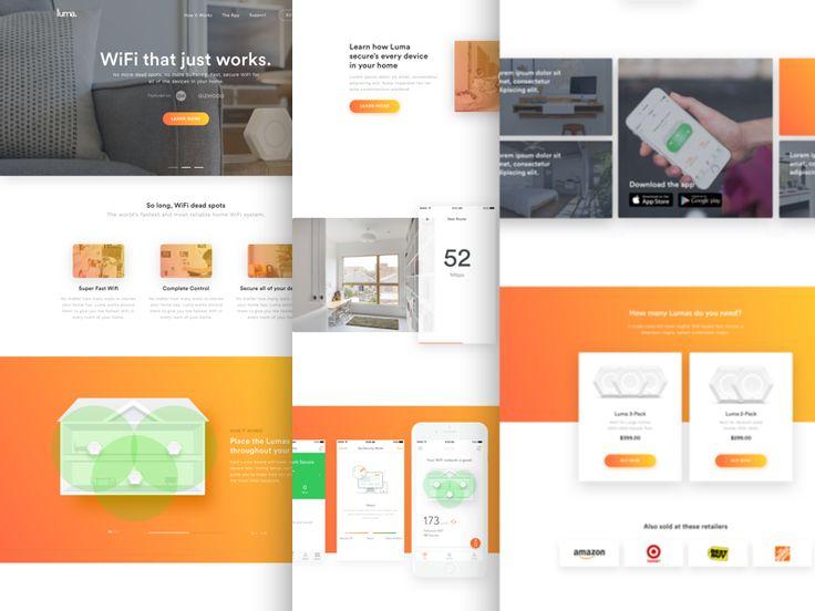Luma Website Concept by John Menard