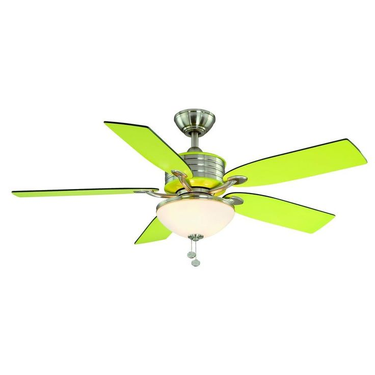 16 best ceiling fans images on pinterest ceiling fan ceiling brushed nickel ceiling fan with green accents ag712 mozeypictures Image collections