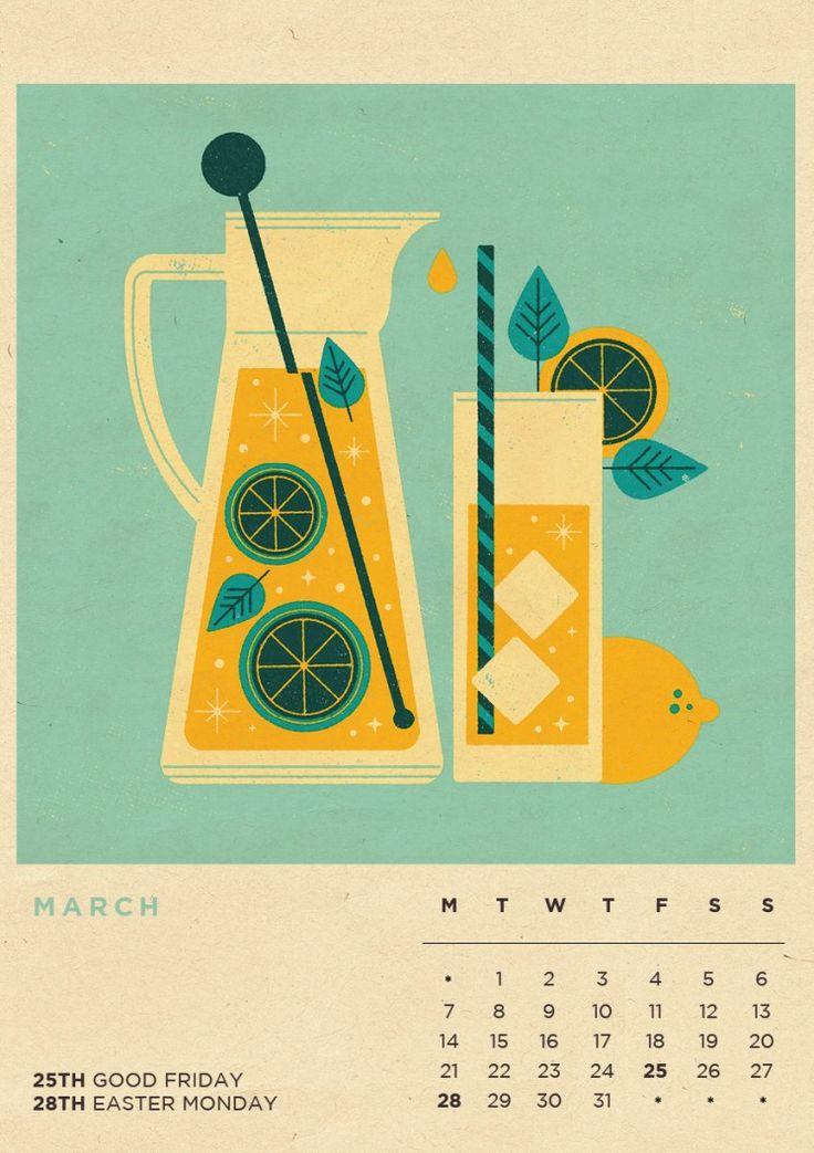 flat illustration revista picnic 2