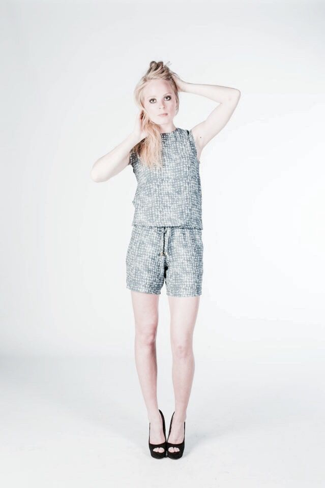 jumpsuit with print // design by nicoline pigsborg // denmark