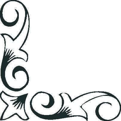 Esquinas de flores para colorear buscar con google grecas pinterest portadas bordado y - Cenefas para dibujar ...