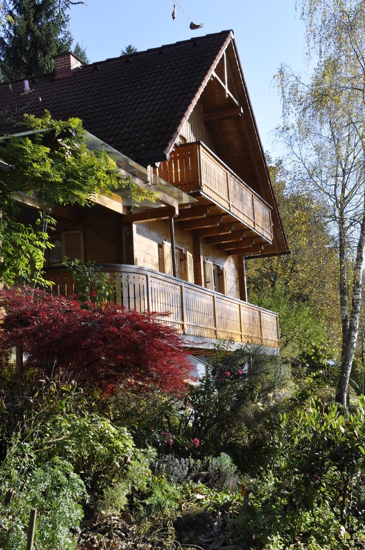 """""""Haus Waldesru"""" - Genießen Sie Ihren Urlaub in unserm Bio-Vollholzhaus in der Südsteiermark. Abgelegen vom Massentourismus bieten wir genau das Richtige für Genießer."""
