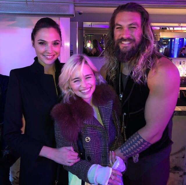Wonder Woman khaleesi and Aqua drogo