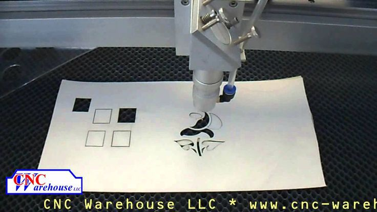 CNC Warehouse Laser cutting Paper