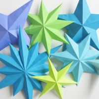 Paper Stars - Part 3 - How Did You Make This?   Luxe DIY