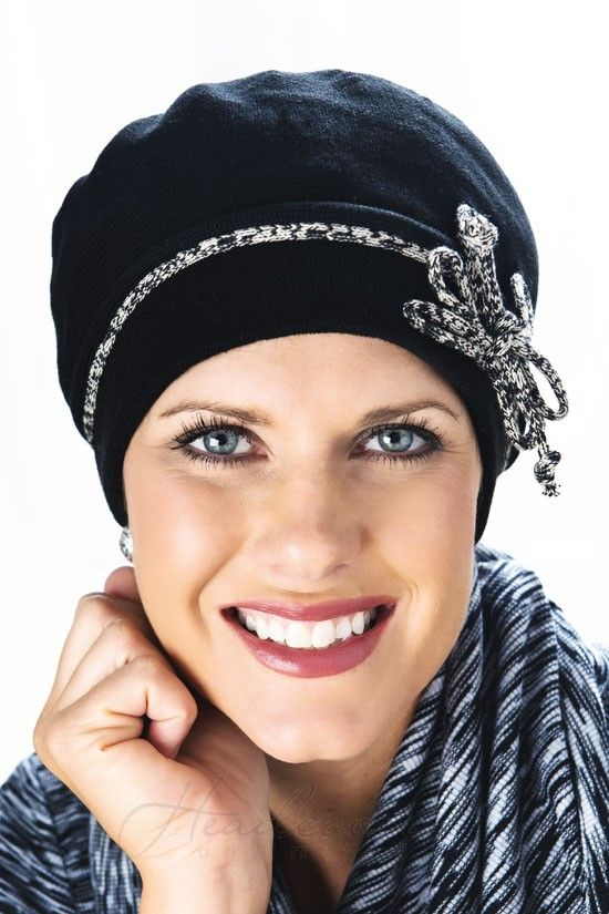 Comfy turban with a bow detailing #cancerhat #chemohat
