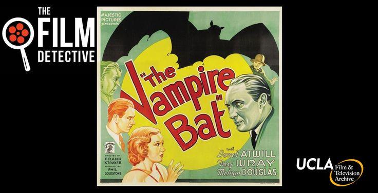 "Vintage Horror Gem ""The Vampire Bat"" Flies Onto Special-Edition Blu-ray & DVD April 25"