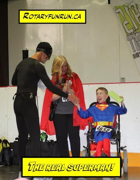 The kids are the REAL HEROS! Superhero Run for KidsAbility 2016 #cbridge #kitchener