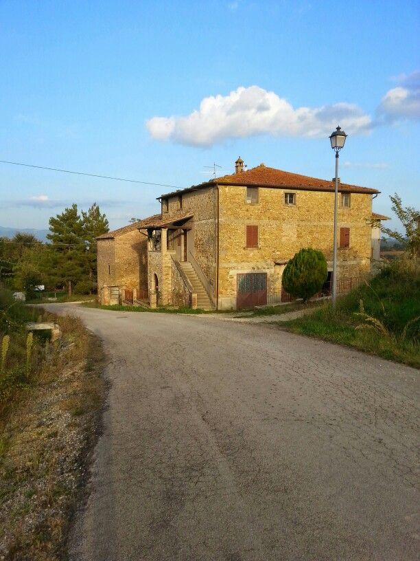 Casolare nei pressi di Anghiari Toscana